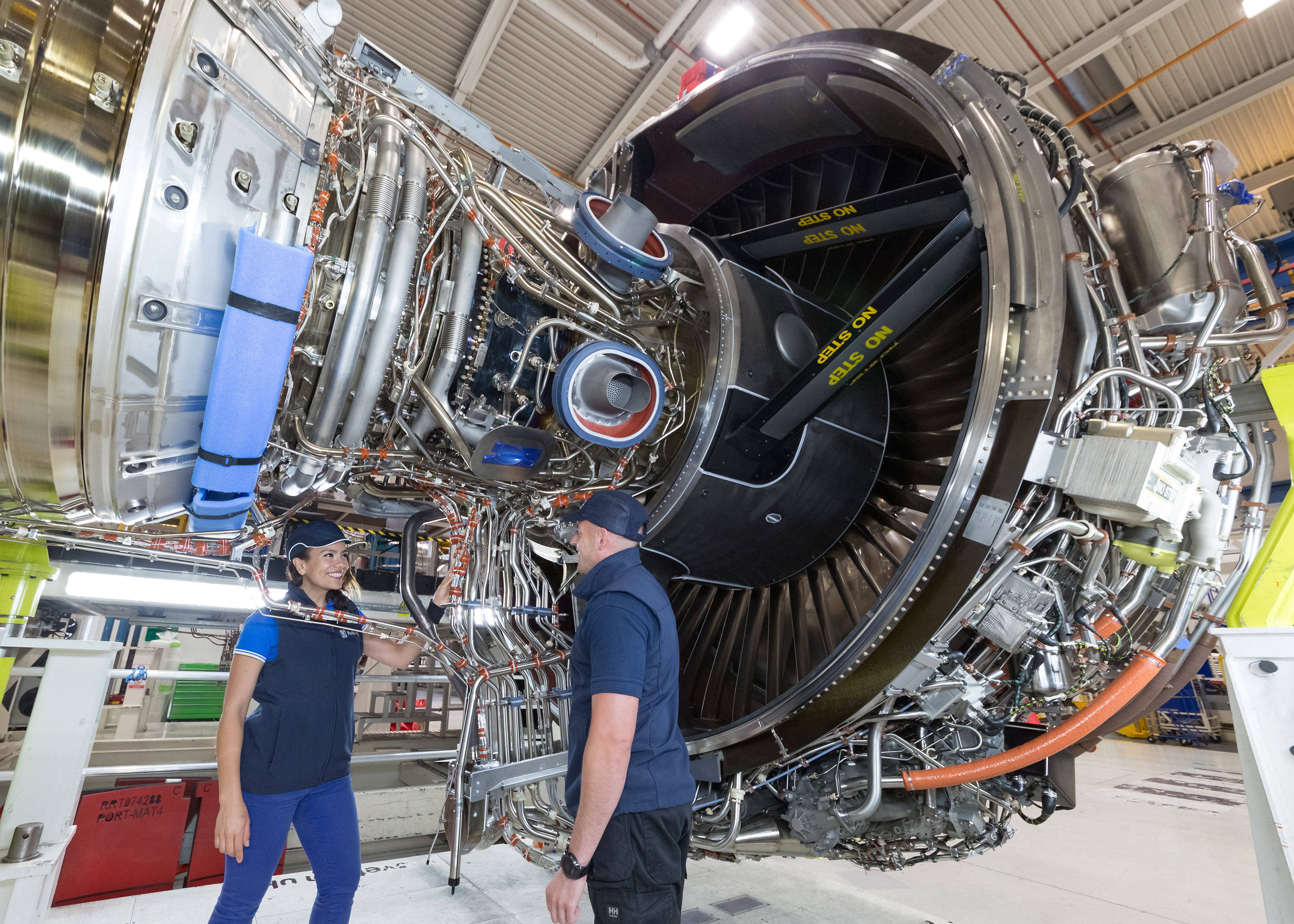 Manufacturing industry aircraft engines