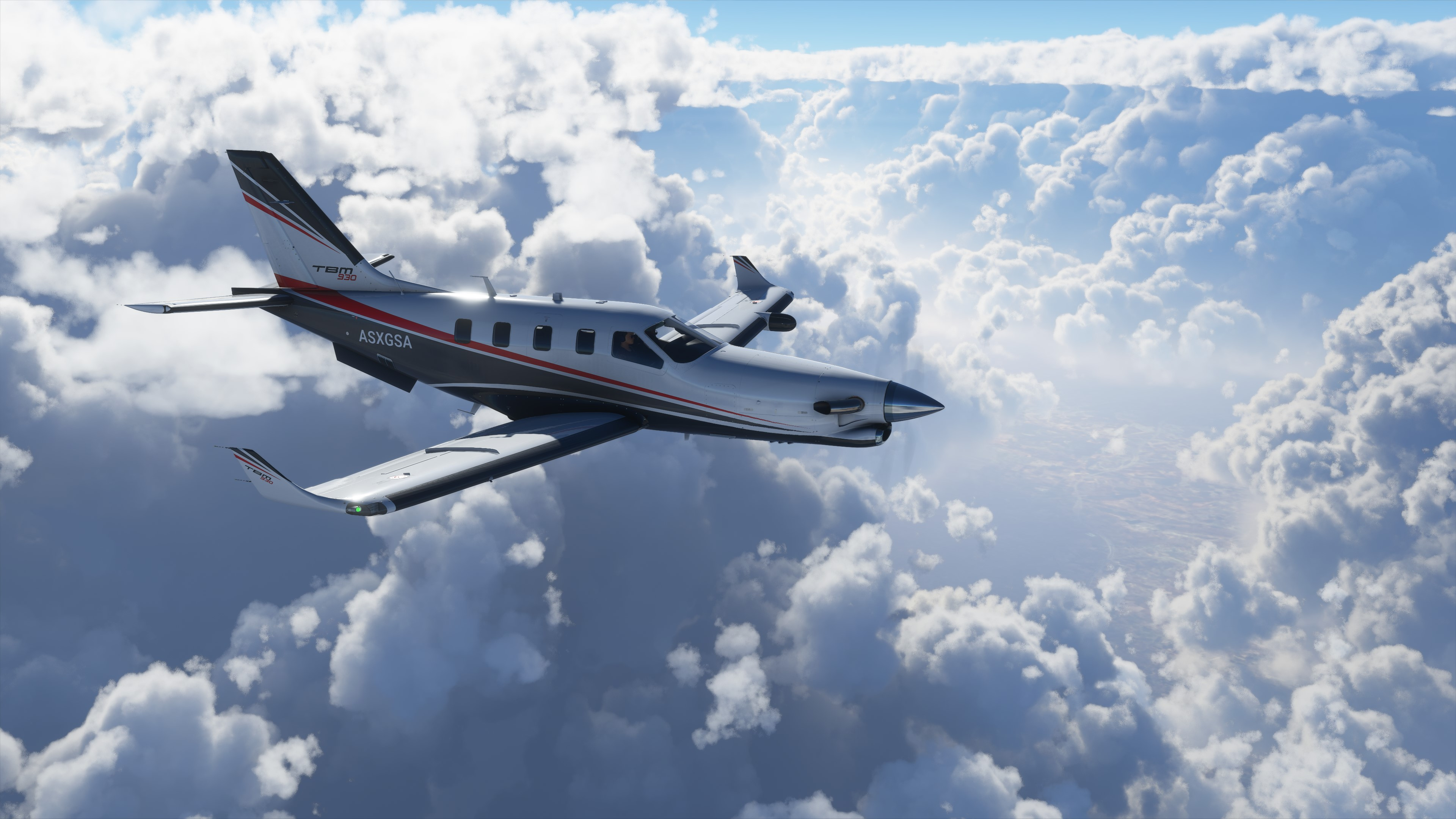 "Daher's TBM 930 very fast turboprop ""spreads its wings"" in the Microsoft  Flight Simulator's latest version - Daher"